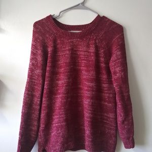 Faded Glory burgundy sweater